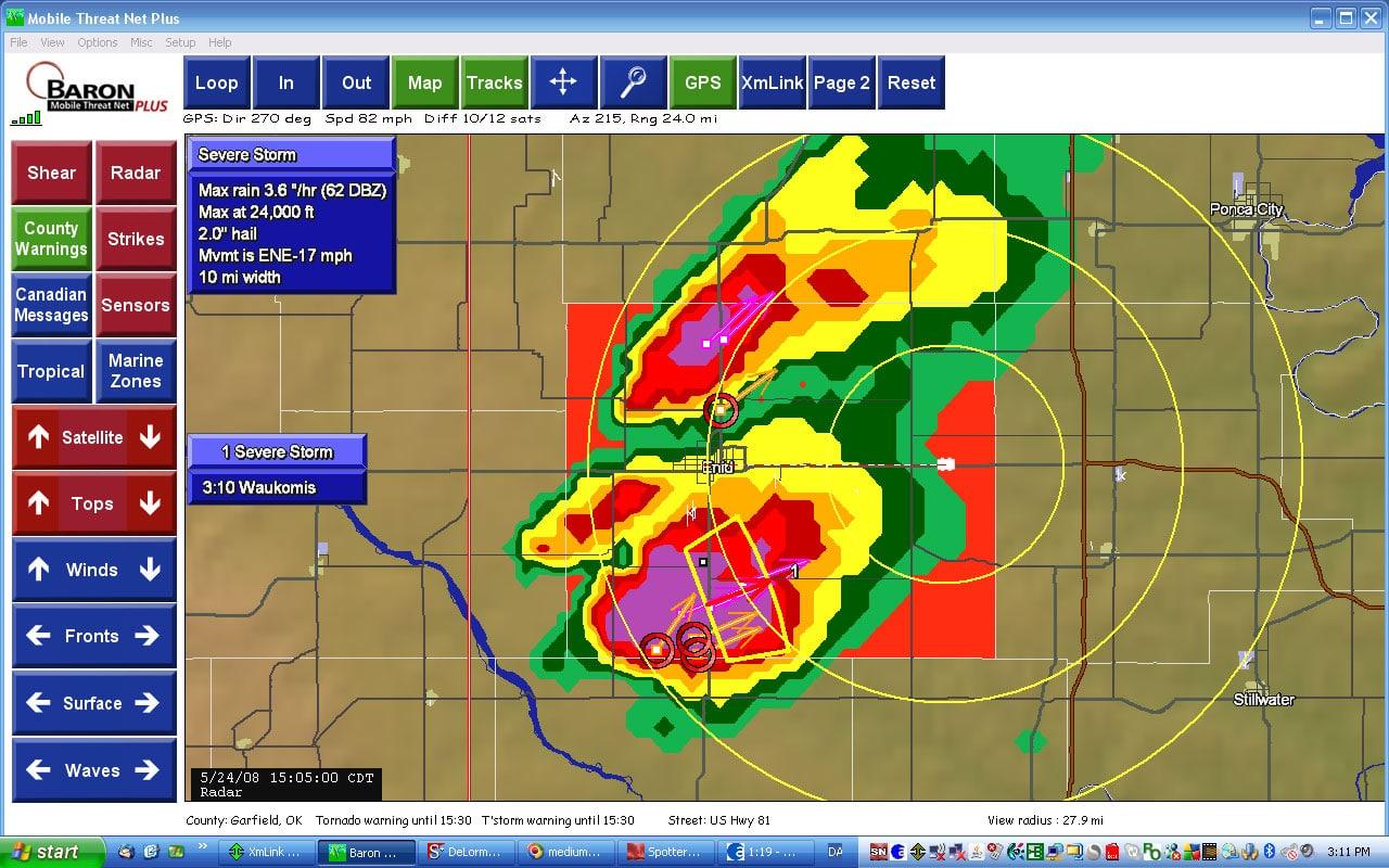 Stormchase 2008 - Dag 20