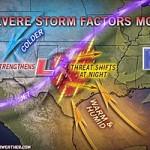 Vildt vejr på vej til det sydvestlige Oklahoma i dag!